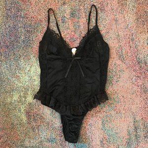 Vintage boho urban lace Bodysuit Onesie singlet